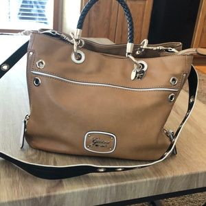 Leather Guess purse
